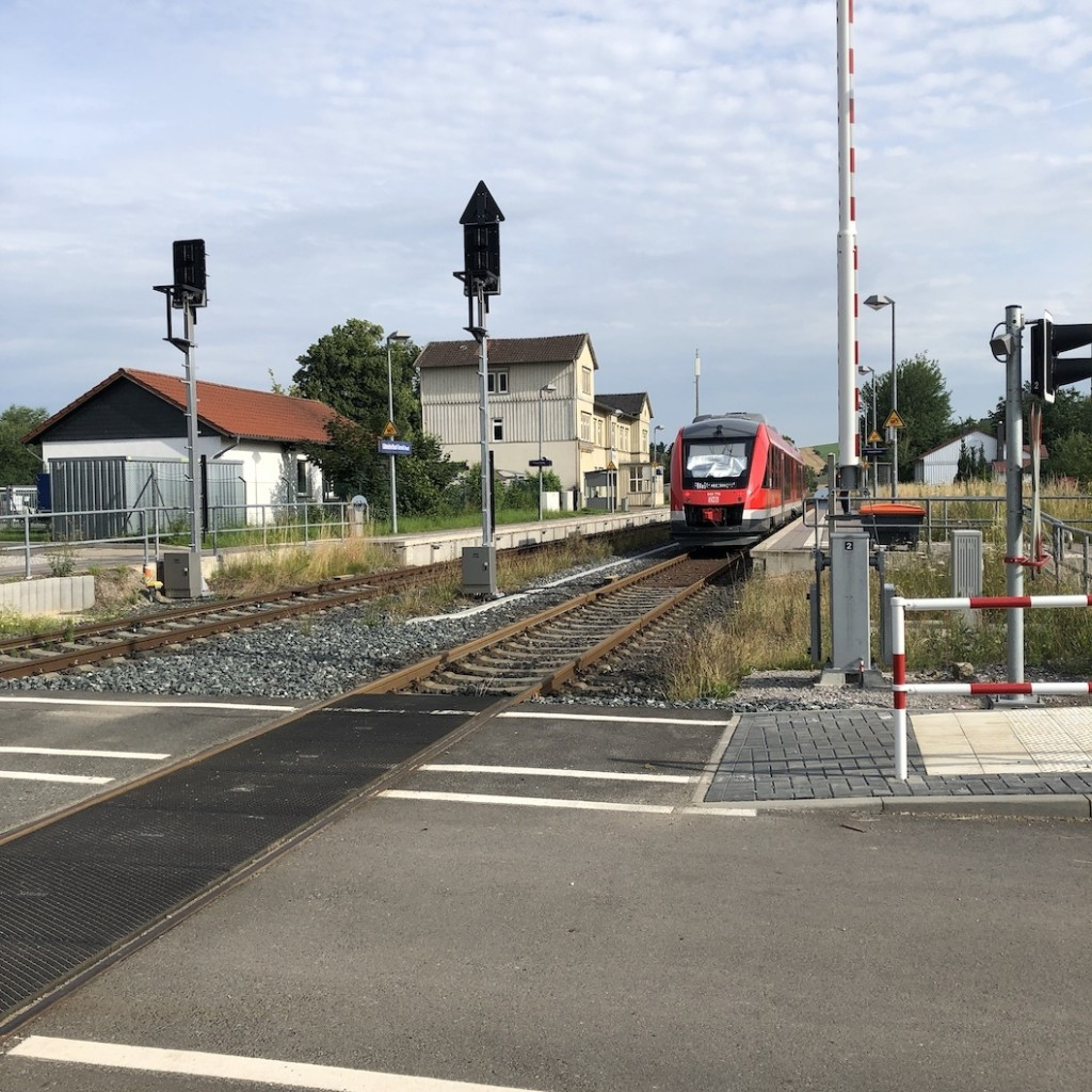 ÖPNV Bahnhof