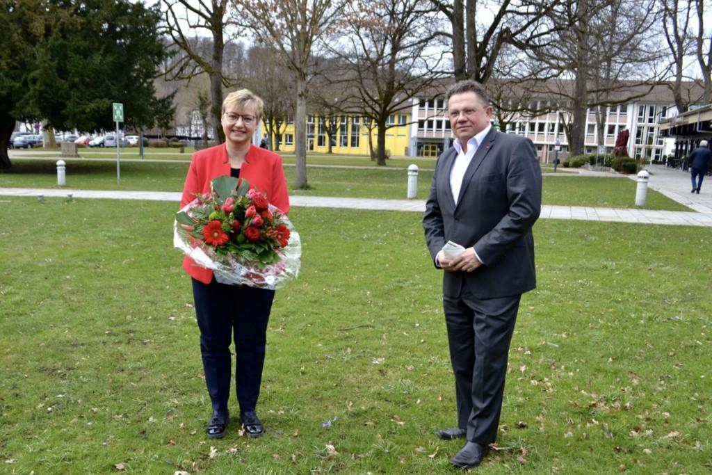Frauke Heiligenstadt mit Dr. Andreas Philippi