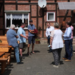 Besuch bei Petras Partyservice