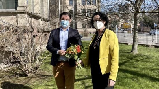 Marcel Riethig und Doris Glahn