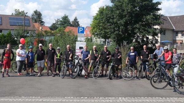 Gruppenfoto Radtour